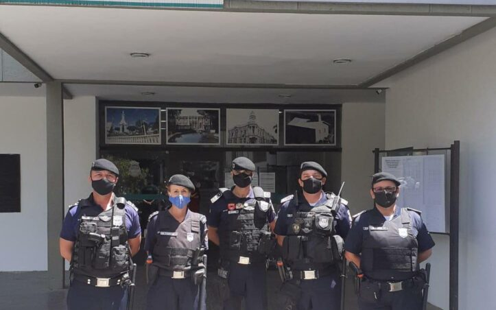 Guarda eleitos